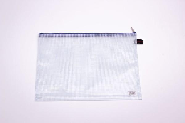 Reissverschlußtasche -fadenverstärkt-  A4