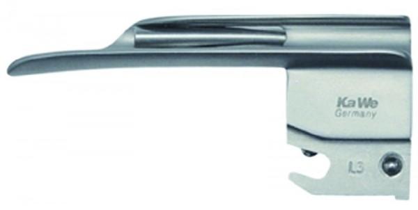 Laryngoskop Spatel Gr. 0 Miller Kaltlicht KaWe