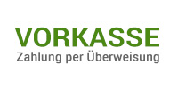 Vorkasse (Überweisung)